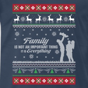 Family-Family is everything christmas sweater - Men's Premium T-Shirt