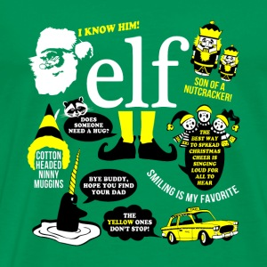 Buddy the elf-awesome t-shirt for buddy eft fans - Men's Premium T-Shirt