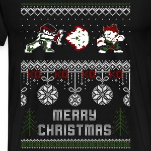 Street Fighter-christmas awesome sweater for fans - Men's Premium T-Shirt