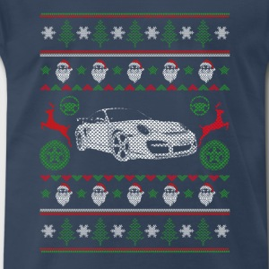 Car-Awesome sport car christmas sweater - Men's Premium T-Shirt