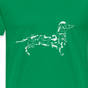 Dachshund-Cool t-shirt for dachshund lovers - Men's Premium T-Shirt