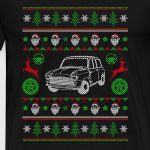 Car-Classical old car christmas awesome sweater - Men's Premium T-Shirt
