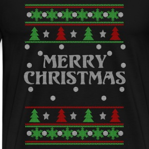 Merry christmas-Christmas awesome sweater - Men's Premium T-Shirt