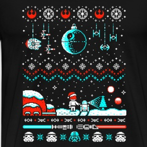 Star war-Christmast sweater for star war fans - Men's Premium T-Shirt