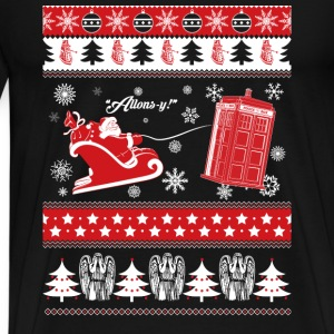 Tardis-Tardis awesome sweater for supporters - Men's Premium T-Shirt