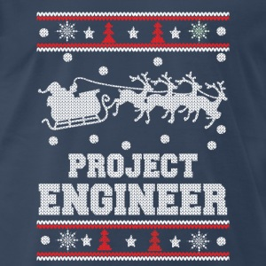 Project engineer-Engineer christmas sweater - Men's Premium T-Shirt