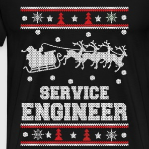 Service engineer-Engineer Christmas sweater - Men's Premium T-Shirt