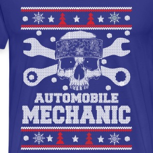 Automobile mechanic-Mechanic Christmas sweater - Men's Premium T-Shirt