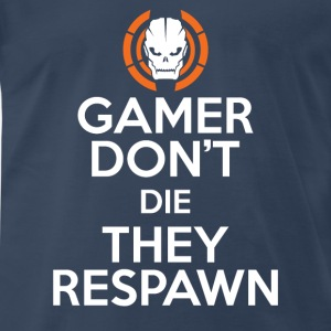 COD-COD gamer don't die They respawn t-shirt - Men's Premium T-Shirt