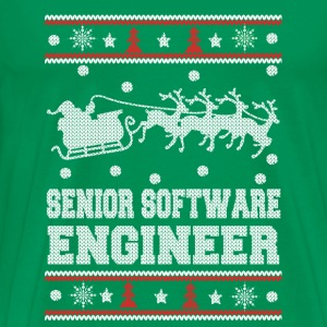 Senior software enginee-Engineer christmas sweater - Men's Premium T-Shirt