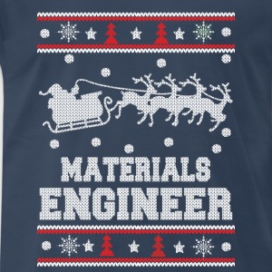 Materials engineer-Engineer christmas sweater - Men's Premium T-Shirt
