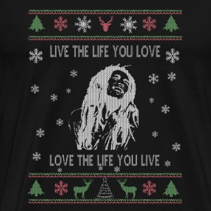 Bob-Bob's song live the life you love t-shirt - Men's Premium T-Shirt