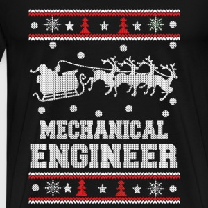 Mechanical engineer-Engineer Christmas sweater - Men's Premium T-Shirt
