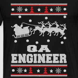 QA engineer-Engineer Christmas sweater - Men's Premium T-Shirt