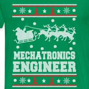 Mechatronics engineer-Engineer christmas sweater - Men's Premium T-Shirt
