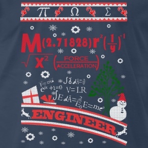 Engineer-Engineer awesome chrismast sweater - Men's Premium T-Shirt