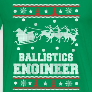 Ballistics engineer-Engineer christmas sweater - Men's Premium T-Shirt