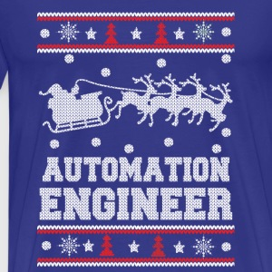 Automation engineer-Engineer Christmas sweater - Men's Premium T-Shirt