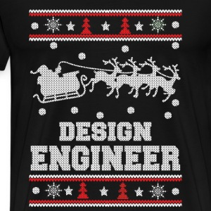 Design engineer-Christmas sweater for engineer - Men's Premium T-Shirt