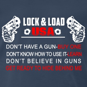 USA gun-Don't have a gun-buy one t-shirt - Men's Premium T-Shirt