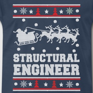 Structural engineer-Awesome christmas sweater - Men's Premium T-Shirt