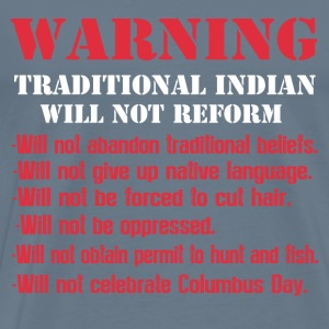 Traditional indian-They will not be oppressed tee - Men's Premium T-Shirt