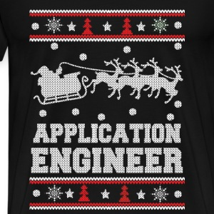 Application engineer-Engineer Christmas sweater - Men's Premium T-Shirt