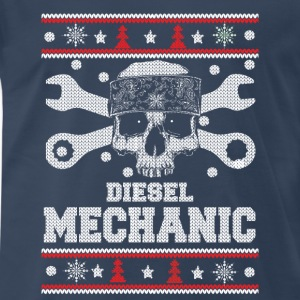 Diesel mechanic-Christmas sweater for mechanic - Men's Premium T-Shirt