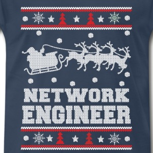 network engineer-chrismast awesome sweater - Men's Premium T-Shirt