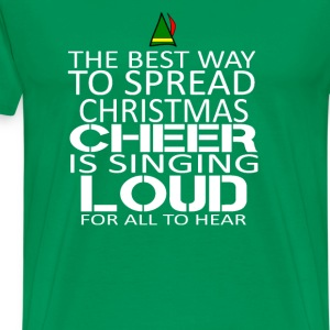 Buddy the elf-The best way to spread christmast - Men's Premium T-Shirt