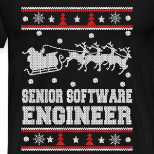 Senior software engineer-Awesome Christmas sweater - Men's Premium T-Shirt
