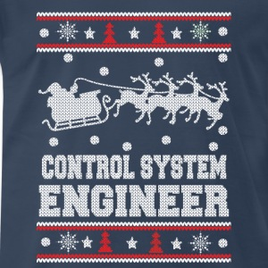 Control system engineer awesome christmas sweater - Men's Premium T-Shirt