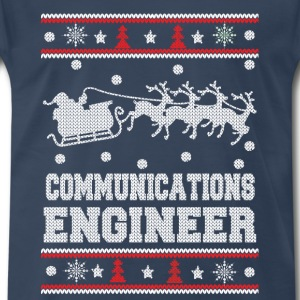 Communications engineer-Christmas awesome sweater - Men's Premium T-Shirt