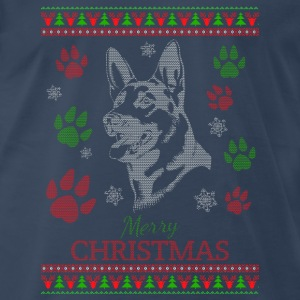 Dog-Ugly christmas sweater for dog lover - Men's Premium T-Shirt