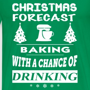 Baking-Christmas forecast awesome sweater - Men's Premium T-Shirt