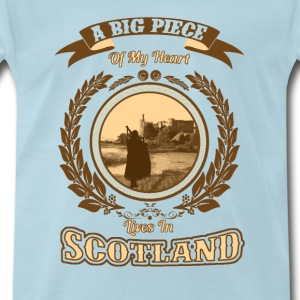 Scotland - A big piece of my heart - Men's Premium T-Shirt