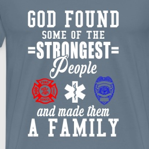 Dispatcher-God found some of the strongest people - Men's Premium T-Shirt