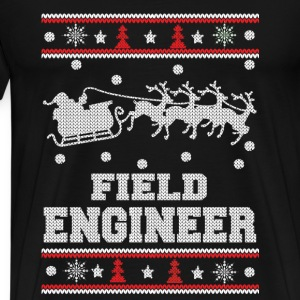 Field engineer-Engineer awesome christmas sweater - Men's Premium T-Shirt