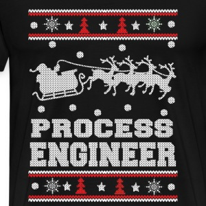 Process engineer-Engineer Christmas sweater - Men's Premium T-Shirt