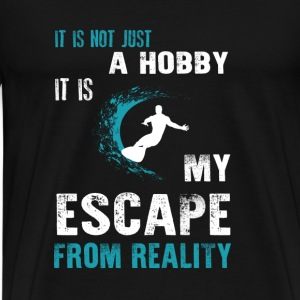 Surfing-Surfing is not just a hobby for t-shirt - Men's Premium T-Shirt