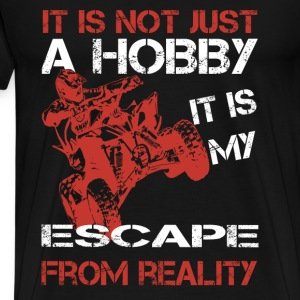 4wheel moutain bike-My escape from reality - Men's Premium T-Shirt
