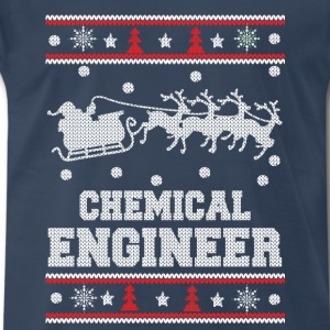 Chemical engineer-Engineer christmas sweater - Men's Premium T-Shirt