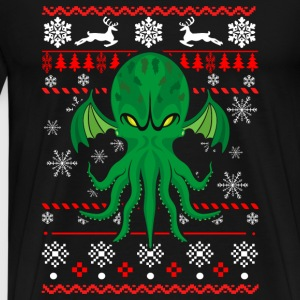 Cthulhu sweater - Men's Premium T-Shirt