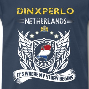 Dinxperlo Netherlands-where my story begins - Men's Premium T-Shirt