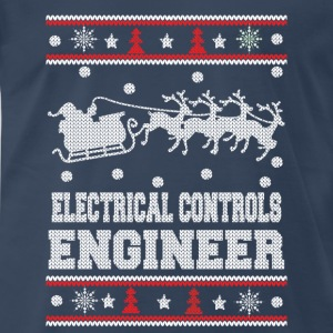Electrical engineer-Engineer christmas sweater - Men's Premium T-Shirt
