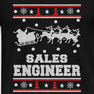 Sales engineer-Engineer Christmas sweater - Men's Premium T-Shirt