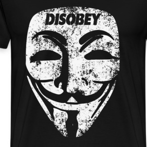 Disobey  - Men's Premium T-Shirt