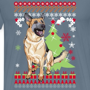 German Chirstmas Sweater - Men's Premium T-Shirt