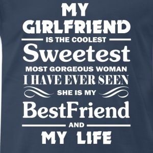My girl friend  - Men's Premium T-Shirt