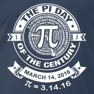 The pi day of the century  - Men's Premium T-Shirt